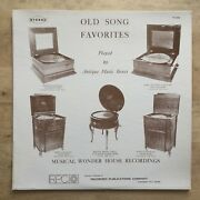 No Artist - Old Song Favorites Played By Antique Music Boxes