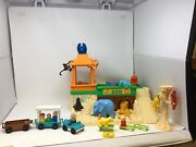 1984 Fisher Price Vintage Little People Zoo Toy Play Set In Original Box Rare