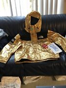 Brand New Supreme X The Mountain Parka - Metallic Pack - Gold - Large