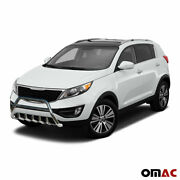 Bull Bar Front Bumper Protection Guard S. Steel For Kia Sportage 2010-2016