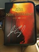 Jim Caviezel Jesus Signed Autographed Word Of Promise Nt Audio Bible On Cd