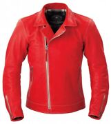 Kushitani Genuine Oem Weber Jacket K-0671 Red Motorcycle Riding Wear