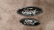 2011-2014 Ford Edge Grill And Liftgate Custom Tuxedo Black Emblem. 9 And 7