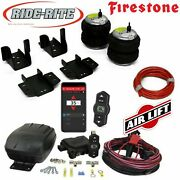 Firestone 2430 Air Bags Rear And Wireless Airlift 2008-2018 Chevy And Gmc 1500