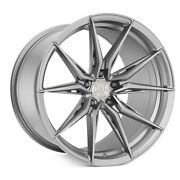 20 Rohana Rfx13 Silver 20x9 Forged Concave Wheels Rims Fits Acura Tsx