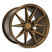 20 Rohana Rfx13 Bronze 20x10 20x11 Forged Concave Wheels Rims Fits Ford Mustang