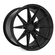 20 Rohana Rfx13 Black 20x9 20x11 Forged Concave Wheels Rims Fits Ford Mustang