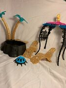 Monster High Cleo 13 Wishes Desert Frights Oasis Hot Tub Playset Complete - Doll