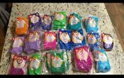 Most Of Mcdonalds Beanie Babies And Bears 1998 And 1999 Sealed Set.