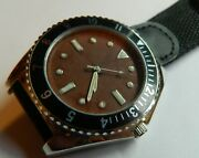 42mm Chocolate Dialjapanese Qtzswiss Lume70's Us Navy Diver Modelnew And Boxed