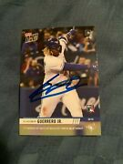 Vladimir Guerrero Jr. Signed Topps Now Rookie Card Mlb Debut Toronto Blue Jays