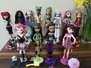 Monster High Puppen Basic Schooland039s Out Toralei C.a.cupid Nefera Cleo Draculaura