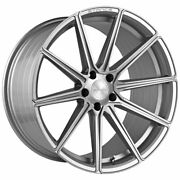20 Stance Sf09 Silver 20x9 Concave Forged Wheels Rims Fits Volkswagen Passat