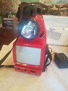 Emergency Red Radio Multi Function Tv Light Compass Thermometer