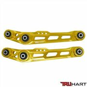 For 88-95 Honda Civic And 90-01 Integra Truhart Rear Lower Control Arms Kit Gold