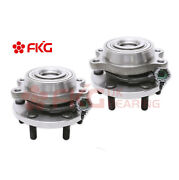 2new Front Wheel Hub Bearing For Nissan Frontier Pathfinder Equator 4wd 515065