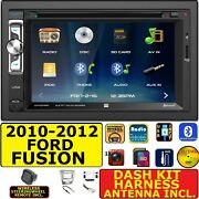2010-2012 Ford Fusion Bluetooth Cd/dvd Usb Aux Sd Car Radio Stereo Package