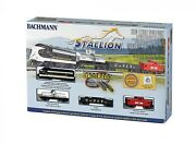 Bachmann 24025 N Norfolk Southern The Stallion Starter Set - W/ Track And Power