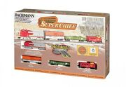 Bachmann 24021 N Santa Fe Super Chief Starter Set - Complete W/ Track And Power