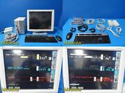 Spacelabs Ultraview Sl2800 Patient Monitor W/ Printer Module And New Leads19336