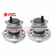 2 Rear Wheel Hub And Bearing For 2002 - 2011 Toyota Camry Avalon 512206 512207