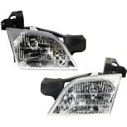 Headlight Lamp Left-and-right For Chevy Olds Gm2503175 Gm2502175 Lh And Rh