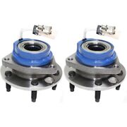 Pair Wheel Hubs Set Of 2 Front Or Rear Left-and-right For Chevy Olds Le Sabre