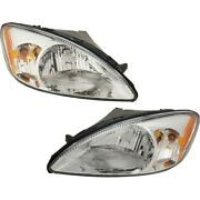 Headlight Lamp Left-and-right 1f1z13008aa-pfm 1f1z13008ab-pfm Lh And Rh For Ford