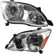 Headlight Lamp Left-and-right To2503162, To2502162 81150ac050, 81110ac050