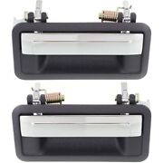 Set Of 2 Exterior Door Handles Front Left-and-right For Chevy Olds 16626611 Pair