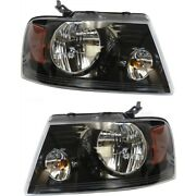 Fo2503247c Fo2502247c Headlight Lamp Left-and-right For F150 Truck Lh And Rh Ford