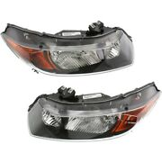 Ho2518111 Ho2519111 Headlight Lamp Left-and-right Coupe Lh And Rh For Honda Civic