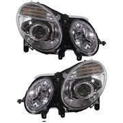 Headlight Lamp Left-and-right For Mercedes E Class Mb2501100 Mb2500100 Lh And Rh