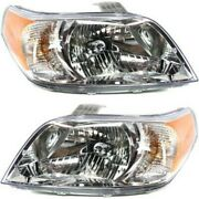 96995734 96995733 Gm2503354 Gm2502354 Headlight Lamp Left-and-right For Chevy