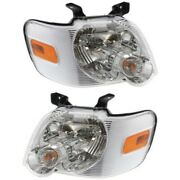 Headlight Lamp Left-and-right For Explorer Lh And Rh Ford Fo2503220c Fo2502220c