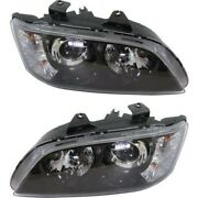 Headlight Lamp Left-and-right Lh And Rh Gm2503328 Gm2502328 92224812 92224813