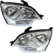 Gm2503306 Gm2502306 Headlight Lamp Left-and-right For Chevy Lh And Rh Saturn Vue