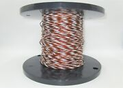 100and039 Simmonds Precision Products 478626-004 Aircraft Cable Wire Amber/white