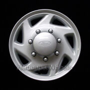 Hubcap For Ford Van 1998-2016 - Factory 16-inch Oem Wheel Cover - Silver 7030