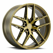 20 Xo Cairo Bronze 20x10.5 Forged Concave Wheels Rims Fits Audi B8 A5 S5