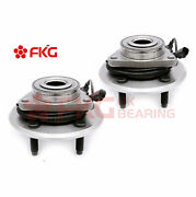 Front Wheel Bearing And Hubs Set For 2009 2010 2011 Dodge Ram 1500 W/ Abs 515126x2