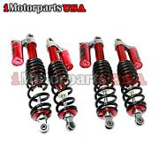 09-14 Polaris Rzr 800 S Stage 2 Front And Rear Air Shock Absorbers Set Adjustable