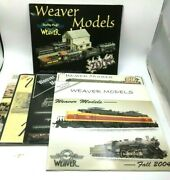 Weaver Models Magazine 2001 And03902 And03903 05 Lot Of 7 Htf Free Shipping