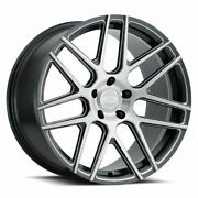 19 Xo Moscow Grey 19x8.5 19x9.5 Forged Concave Wheels Rims Fits Tesla Model 3