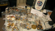 Rare Large Russian Collection - Pins Coins Pennant - Flown Business Card