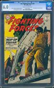 Our Fighting Forces 45 Cgc 6.0 Silver Age Key Dc Comic 1st Gunner And Sarge L@@k