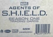 Agents Of Shield Season 1 Factory Sealed Case - 12 Boxes Autographs And Costumes