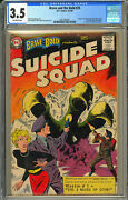 Brave And The Bold 25 Cgc 3.5 Dc 1959 1st Suicide Squad Key Silver K10 201 Cm