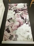 3d Floral Rose Rustic Effect Wall Sticker Wallpaper Home Decor Sheets Decoration