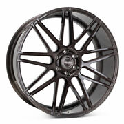 20 Velgen Vft9 Black 20x10 Forged Concave Wheels Rims Fits Ford F-150